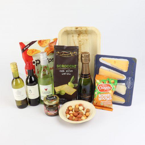 luxe wijn borrelpakket