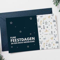 Gepersonaliseerde kaart voor bij je kerstpakket